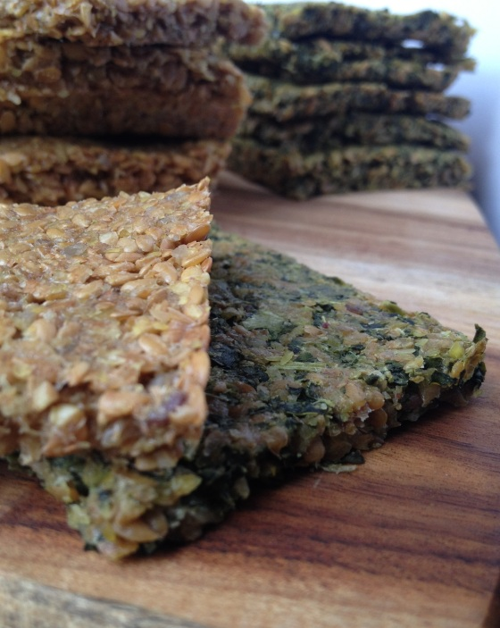 flax seed crackers