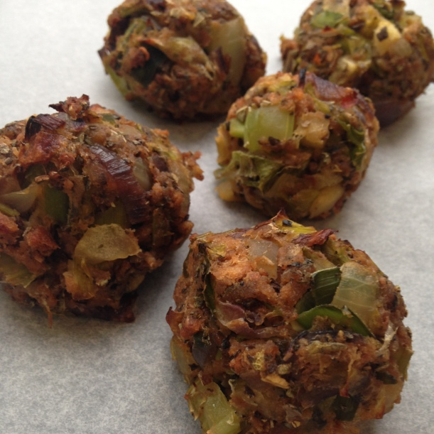 Vegan Sage and Onion Stuffing