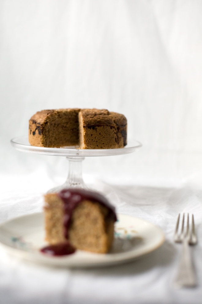 Spelt-and-almond-cake